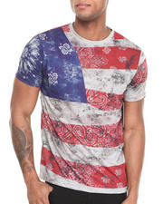 Men - Flag Sublimination S/S Tee