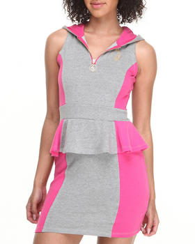 Baby Phat - Mod Colorblock Hooded Dress