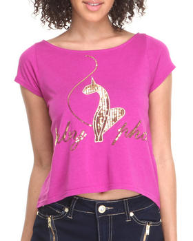 Baby Phat - Back Zipper Cropped Top