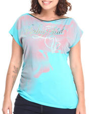 Baby Phat - Zip Neck Sleeveless Top (Plus)
