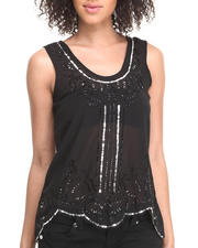 Women - Highland Princess Top w/sequins