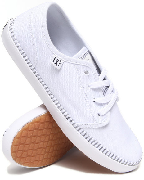 DC Shoes White Studio Ltz Sneakers