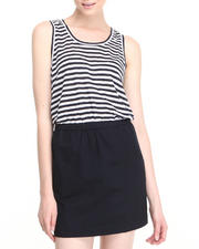 Women - Lanny Lounge Stripe Dress