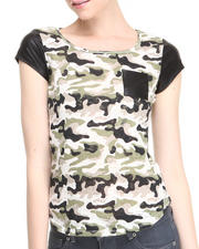 Fashion Lab - Camp Camo Tee