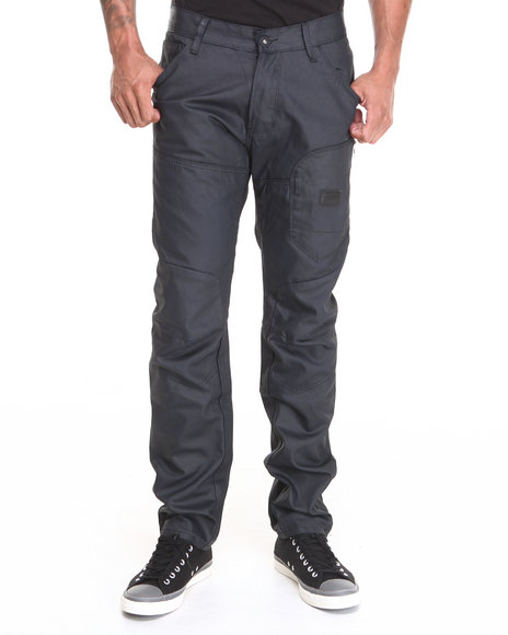 Hudson NYC Navy No Country Waxed Coated Premium Denim Jeans