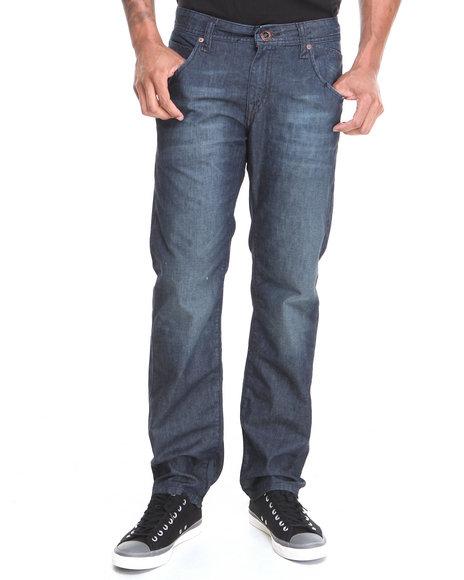 Volcom Medium Wash Nova Straight Fit Denim Jeans
