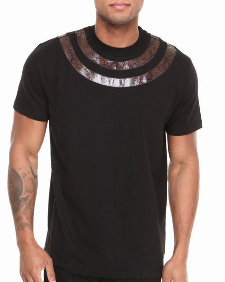 Hudson NYC Black Snake Tight S/S Tee