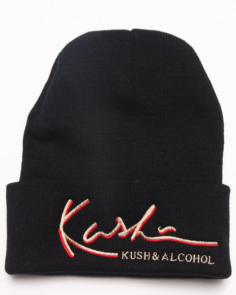 Community 54 Presents Kush & Alcohol Beanie Black