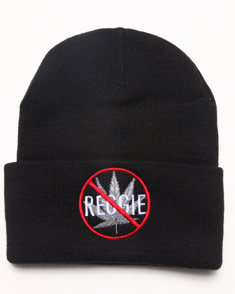 Community 54 Presents No Reggie Beanie Black