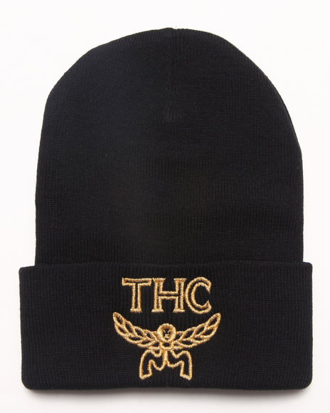 Community 54 Presents 24 Karat Thc Beanie Black