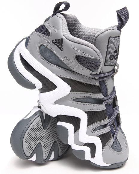 Adidas Boys Grey Crazy 8 J Sneakers