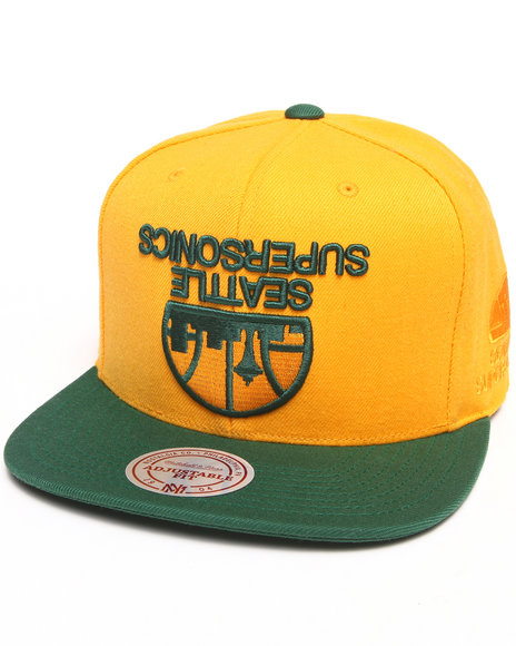 Hall Of Fame X Mitchell & Ness Sonics Upside Down Green
