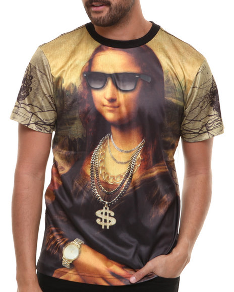 Akademiks - Chillin' Mona Sublimation Tee