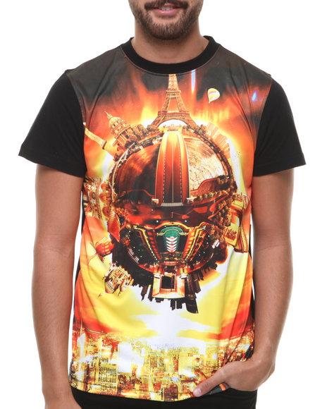 Enyce - Men Black Global Village T-Shirt