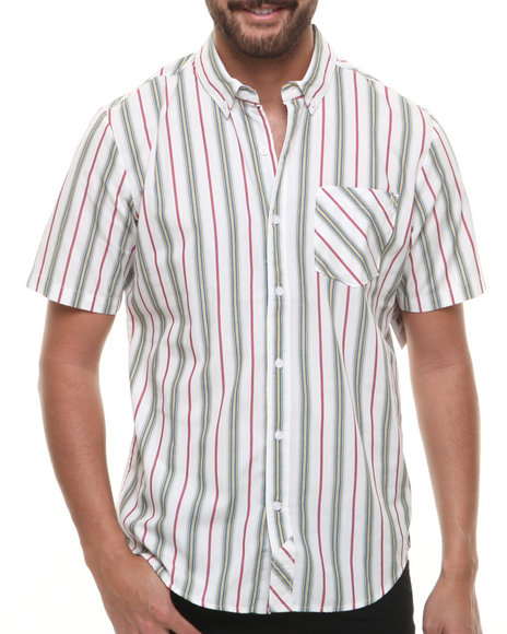 Volcom Red Button-Downs