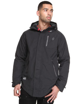 Psyberia - Internationalist Waterproof Nylon Jacket