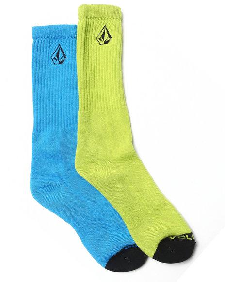 Volcom Mix Stone Socks Blue