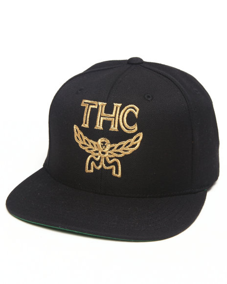 Community 54 Presents 24 Karat Thc Snapback Hat Black