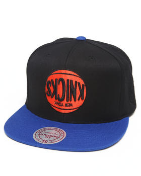 Hall of Fame - Hall of Fame x Mitchell & Ness New York Knicks Upside Down Snapback Cap