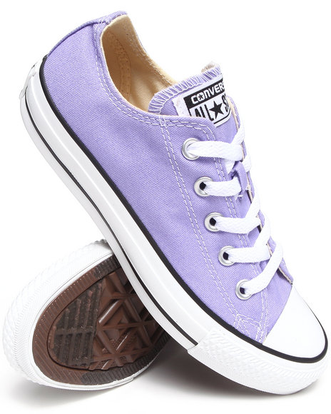 Converse Purple Chuck Taylor Seasonal All Star Sneakers