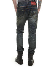 Men - Rebel Straight Cinch Back Jean