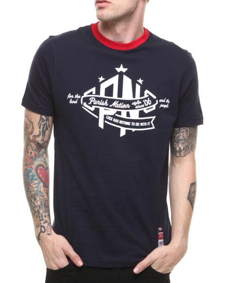 Parish - Men Navy Notre Dame T-Shirt