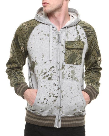 Parish - Men Grey Campfire Hoodie