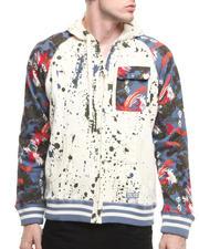 Zip-front Sweatshirts - Campfire Hoodie
