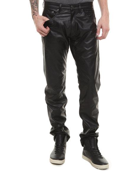 Winchester Black P U 5 Pocket Pants