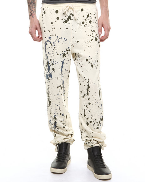 Parish - Men Cream Campfire Sweatpant