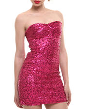 Fashion Lab - Strapless Sequin Bodycon Dress