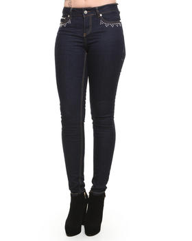 COOGI - Studded Front and Back Pocket Jeans