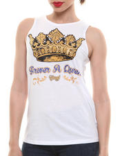 Women - Forever A Queen Muscle Tee