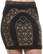 COOGI - Fitted Skirt w/ Stud Detail