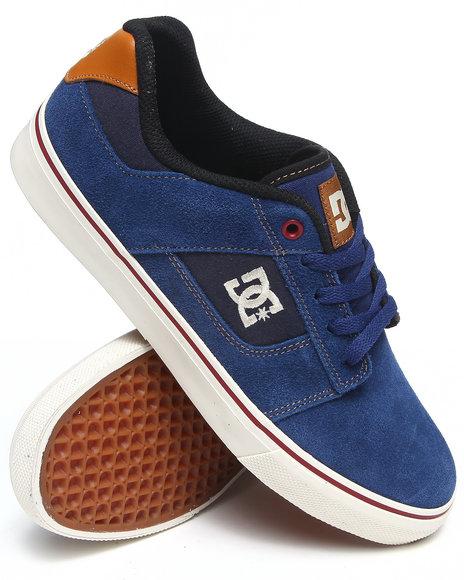 DC Shoes Navy,Wheat Bridge Sneakers