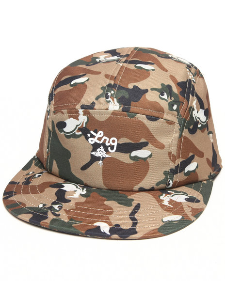 Lrg Men Core Camo 5 Panel Hat Camo