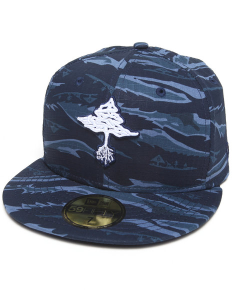 Lrg - Men Navy Core Collection Camo Hat