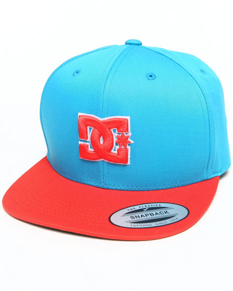 Dc Shoes Snappy Snapback Cap Blue