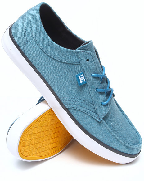 DC Shoes Blue Standard Tx Sneakers