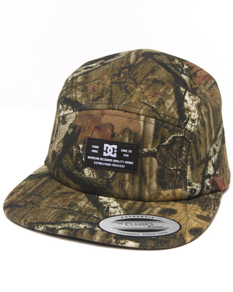 Dc Shoes Men Surprise 5-Panel Camp Cap Camo