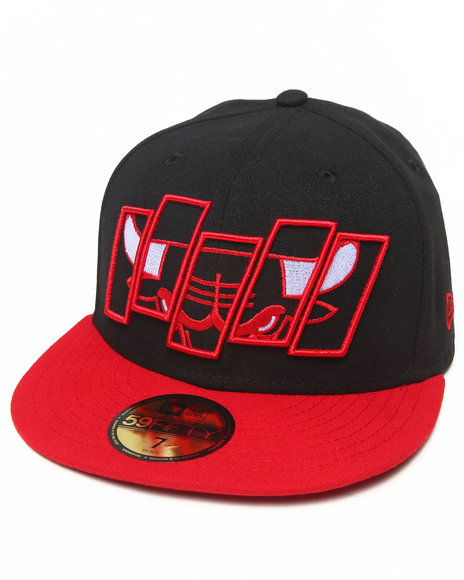 New Era - Chicago Bulls Fill In The Box 5950 fitted Hat