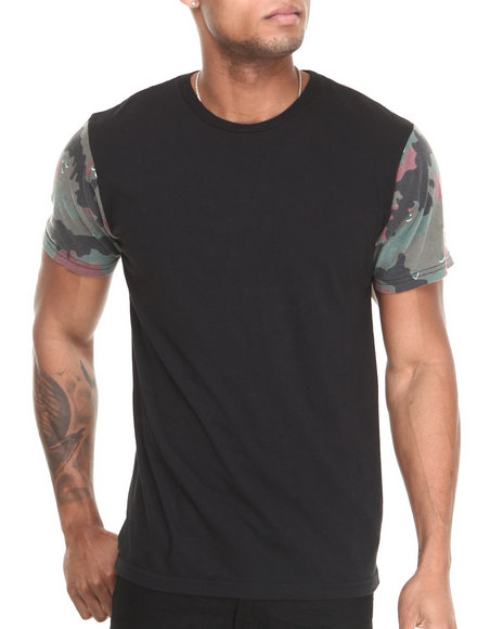 Dc Shoes - Men Black Sleeveland Tee - $17.99