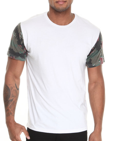 Dc Shoes - Men Light Grey Sleeveland Tee