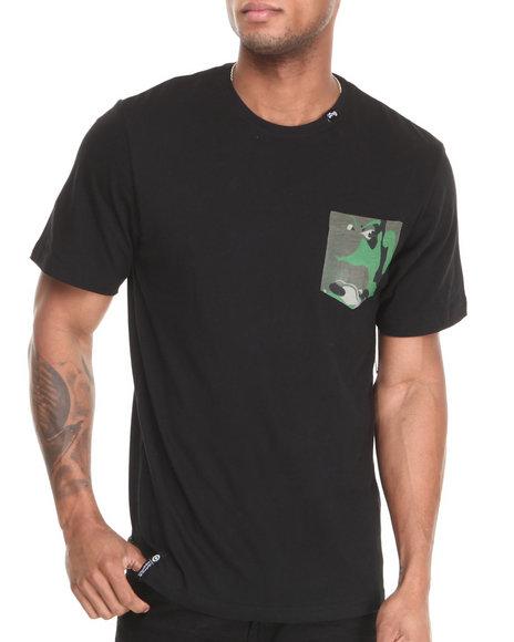 Lrg - Men Black Wolfland S/S Pocket Tee