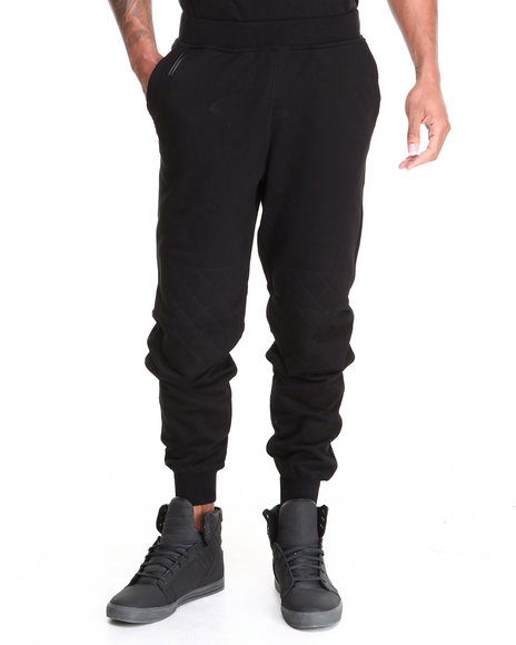 Akademiks Black Buster Drawstring Sweatpants