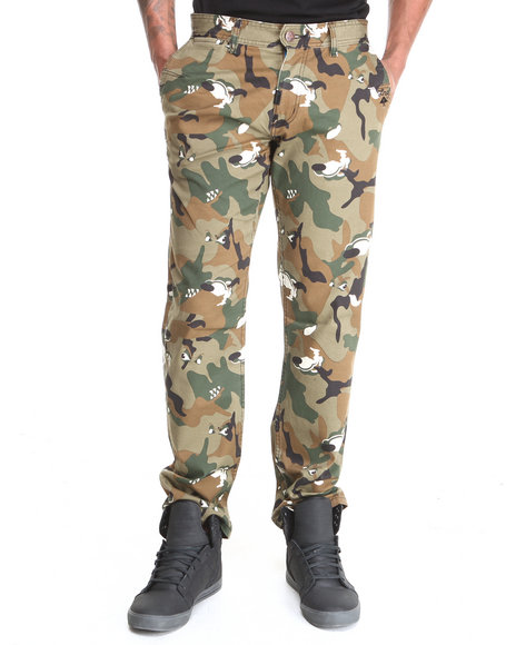 LRG Camo Unnatural Palette True Tapered Pants