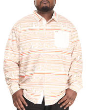 LRG - No Babylon L/S Button-Down (B&T)