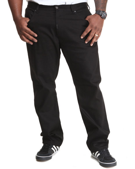 LRG - Men Black Core Collection True-Straight Denim Jeans (B & T)