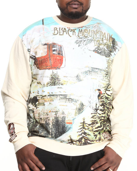 AKOO White Black Mountain Lodge Sweatshirt