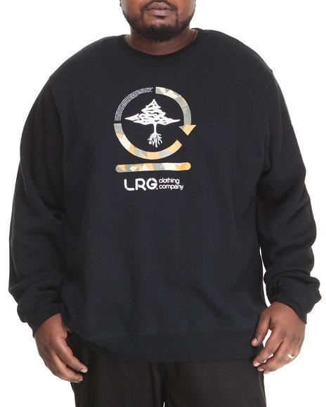 LRG Black Core Collection Two Crewneck Sweatshirt (Big & Tall)